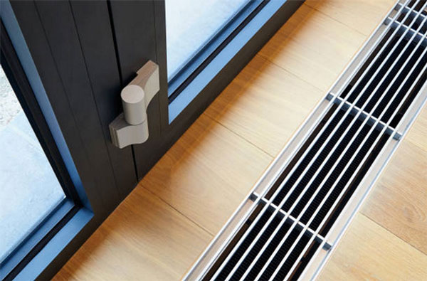 Central heating vent
